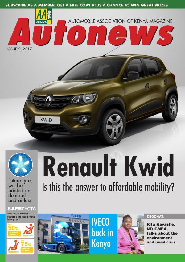 Autonews Issue 2, 2017 Autonews digital magazine Edition 2 Q2- covers••