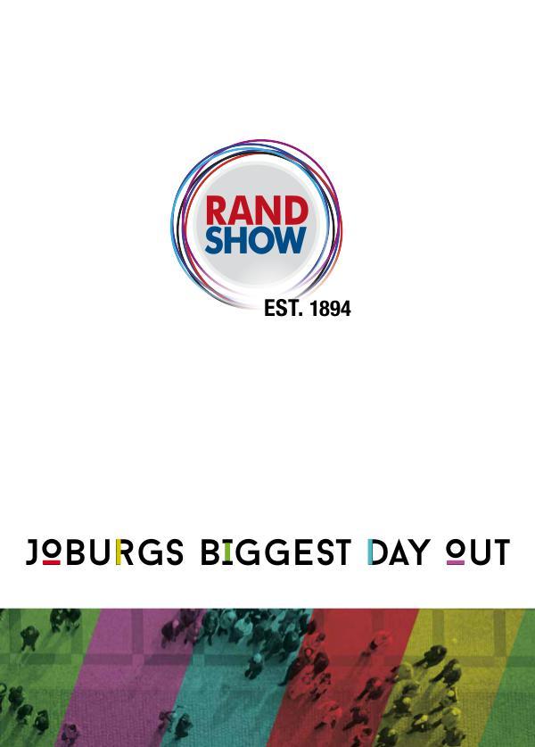 Rand Show 2017 full sales pack Full info pack