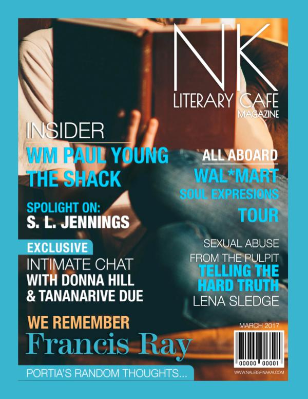 Naleighna Kai's Literary Cafe Magazine March 2017 Issue