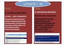 2. Auflage zum Titel Wortschatz-Uebersetzungen kfz-Mechatronik