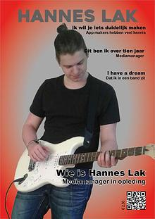 My Magazine, Hannes Lak