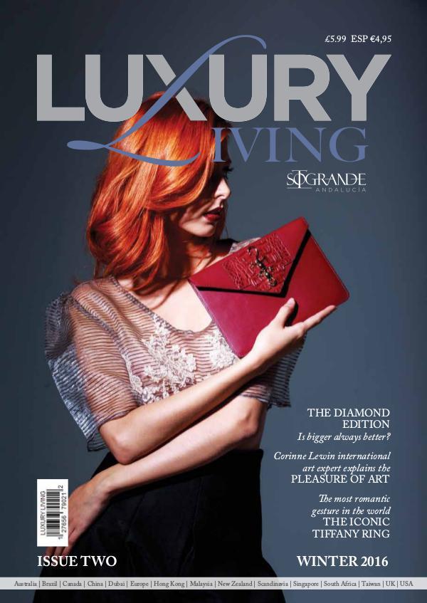 Living In Magazine luxury living magazine issue 2 luxury living magazine issue 2