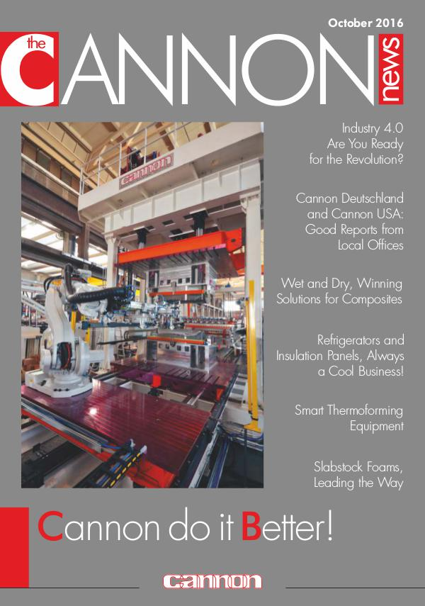 Cannon News Dedicated Industrial Solutions