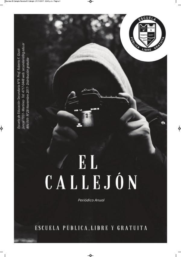 APLA DIARIO El Callejón