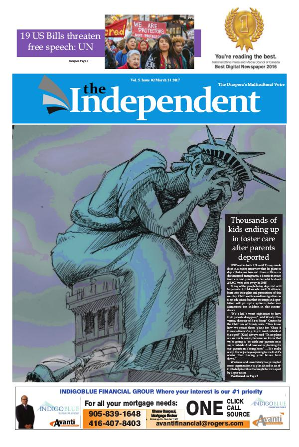 The Independent March 31 2017 The Independent March 31 2017