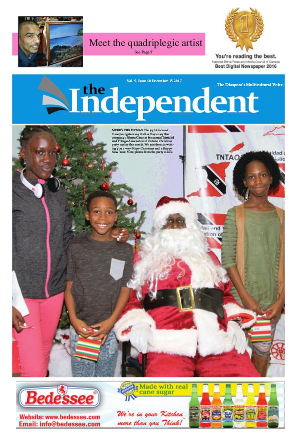 The Independent December 15 2017 Independent December 15 2017