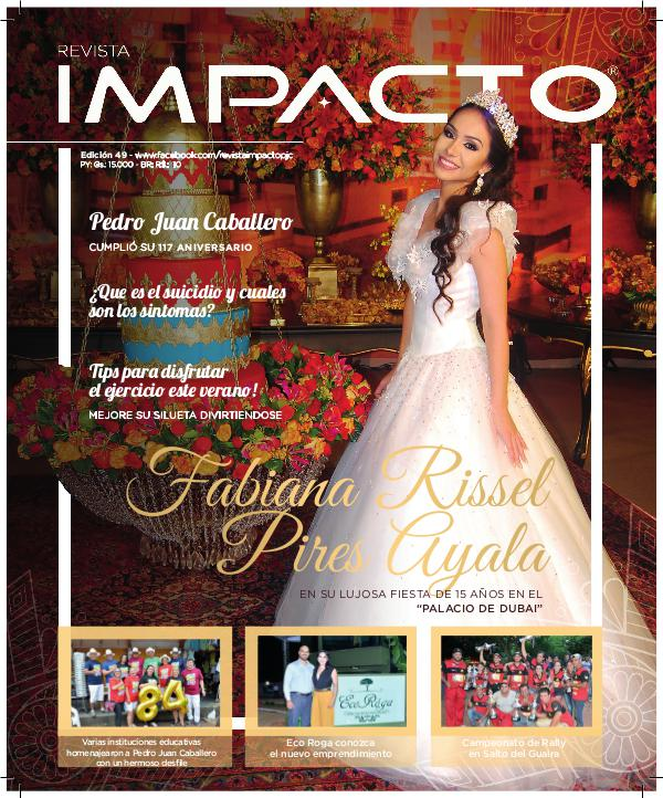Revista Impacto Edicion 49 Dic. 2016 Revista Impacto Edicion Diciembre 2016 49#