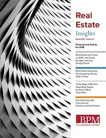 BPM Real Estate Insights: Spring 2018