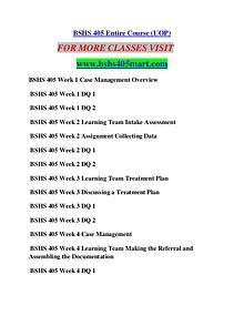 BSHS 405 MART Career Begins/bshs405mart.com