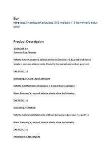 ACC 345 Module 1-3 Homework (solutions)