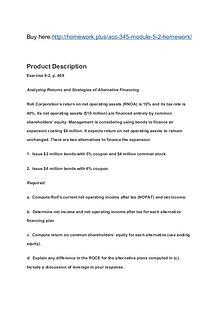 ACC 345 Module 5-2 Homework