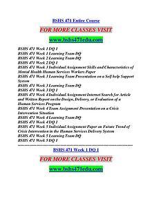 BSHS 471 EDU Career Begins/bshs471edu.com
