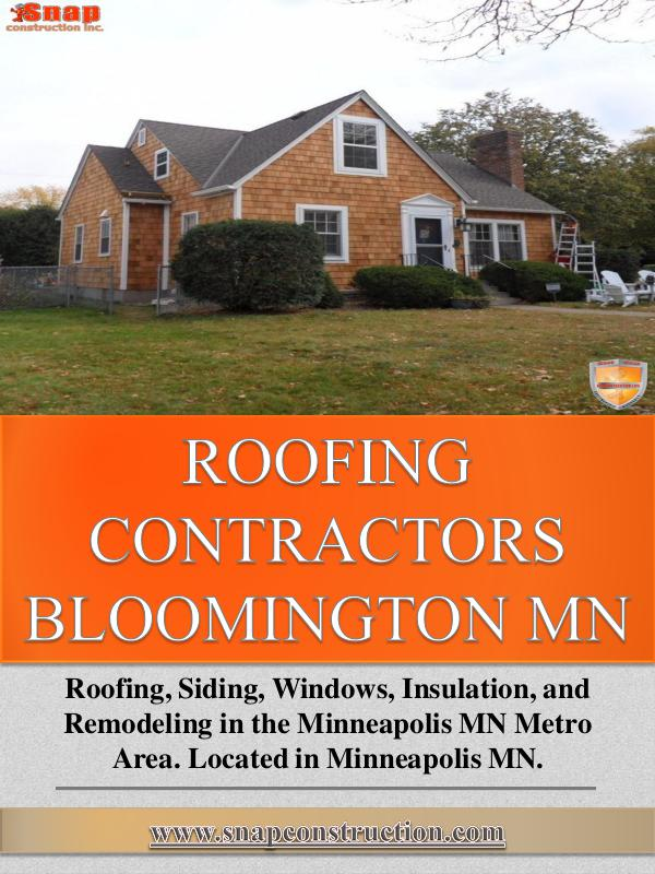 Roofing Contractors Bloomington Mn Roofing Contractors Bloomington Mn