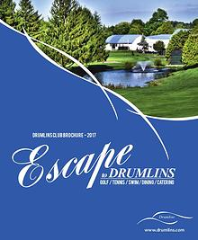 Drumlins Country Club Membership Brochure - 2017
