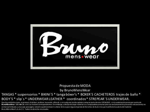 Catalogo General 2017-80 CATALOGO Bruno Mens Wear 2017-80