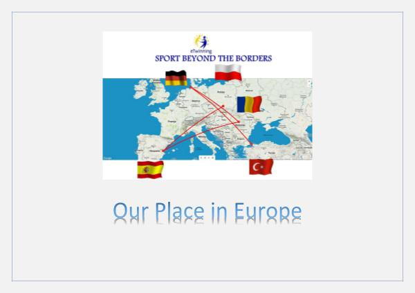 Our place in Europe our place in europe