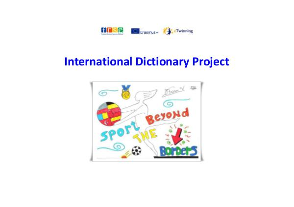 International Dictionary Project International Dictionary Project.docx