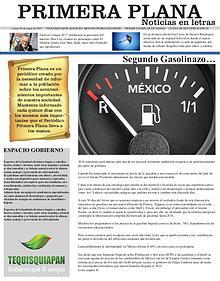 Primera Plana Noticias en Letra