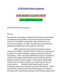 CJ 503 MENTOR Invent Yourself/cj503mentor.com