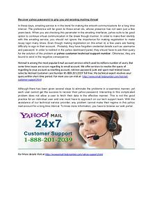 Call Now yahoo support Number @1-888-201-2039