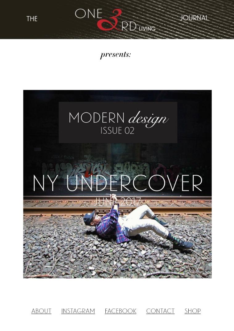 The One 3rd Living Journal Modern Design/ Issue 02/ June 2017