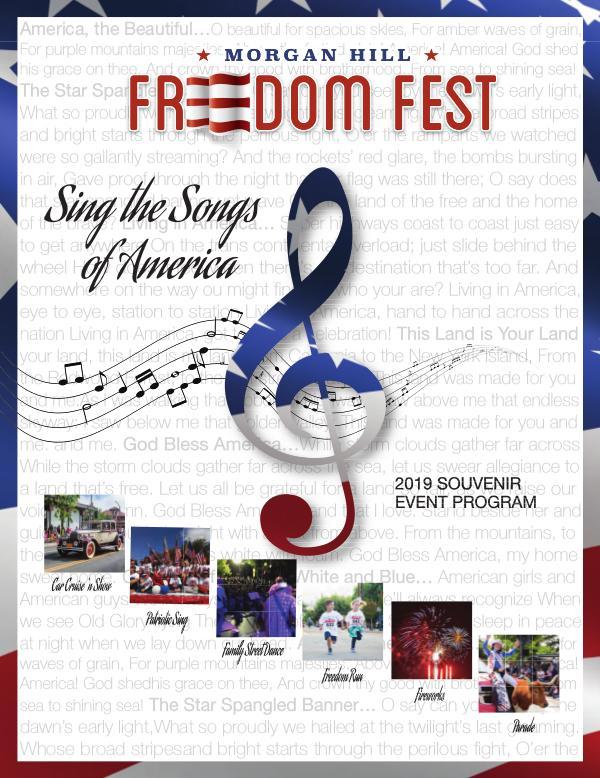 Freedom Fest FF Program 2019