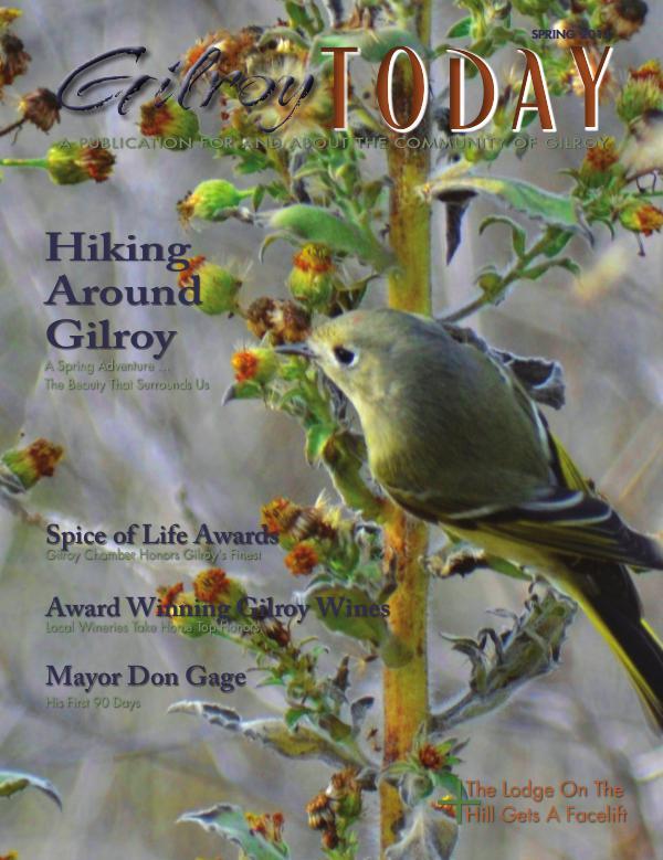 Gilroy Today Spring 2013