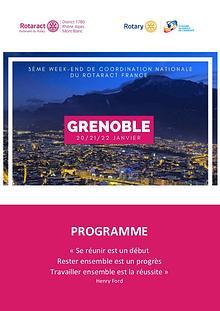 Week-End CN: Programme