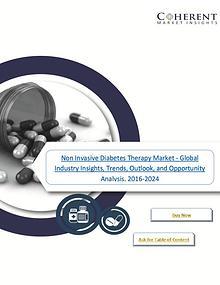 Non Invasive Diabetes Therapy Market