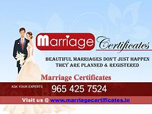 Marriage Certificate in Delhi