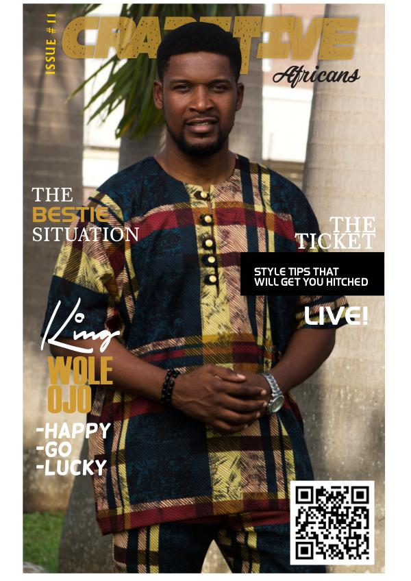 Crazitive African Magazine Issue 11: The Bestie Situation