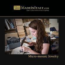YourMadeInItaly.com - Micro Mosaic Jewelry Portfolio