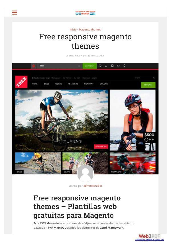 Free responsive magento themes Free responsive magento themes