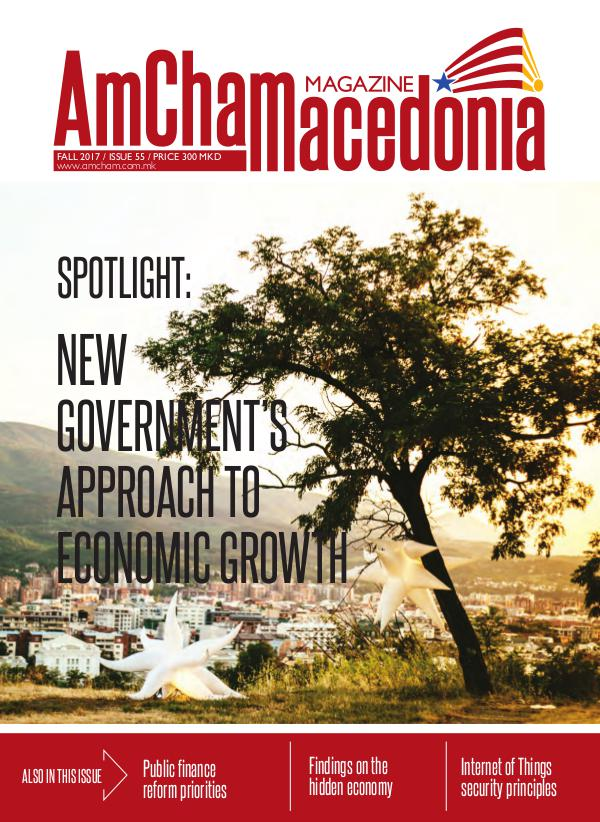 AmCham Macedonia Fall 2017 (Issue 55)