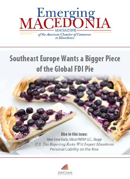 AmCham Macedonia Winter 2015 (Issue 44)