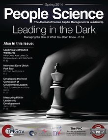 Journal: People Science - Human Capital Management & Leadership in the public sector