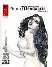 Pinup Menagerie artMagazine