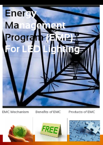 Introduction of Energy Management Contract (EMC) for LED Lighting 1.2