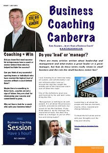 Business Coaching Canberra