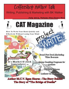 Coffeeshop Author Talk Magazine Volume One | Issue One, July 2013