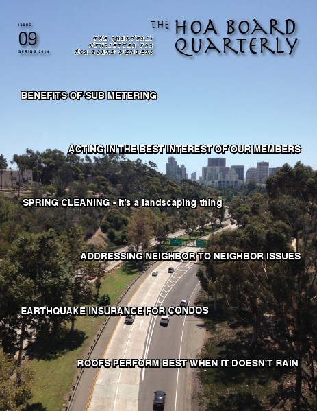 The HOA Board Quarterly Spring 2014 Issue #9