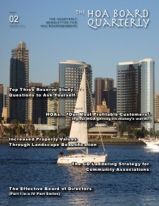 The HOA Board Quarterly Spring 2012 Issue #2