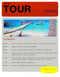 Racha Yai island Trip July 2013