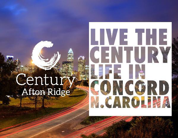 Century Afton Ridge Century Afton Ridge E-Brochure