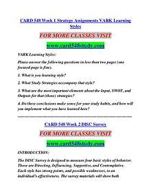 CARD 548 STUDY Career Begins/card548study.com