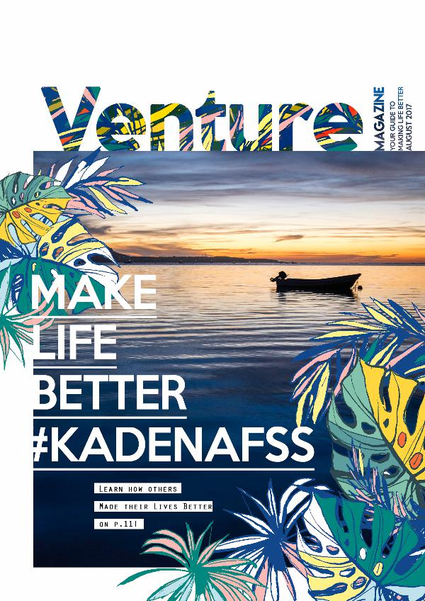 Venture Magazine August 2017