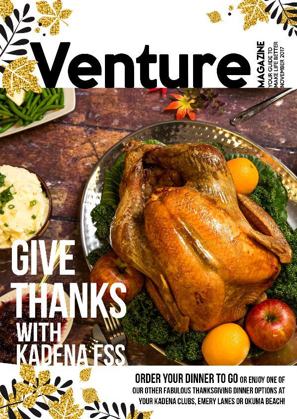 Venture Magazine November 2017