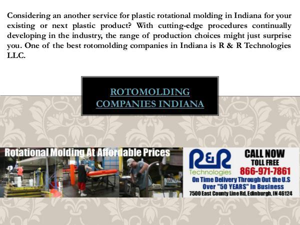 Rotational Molding Indiana Rotational Molding