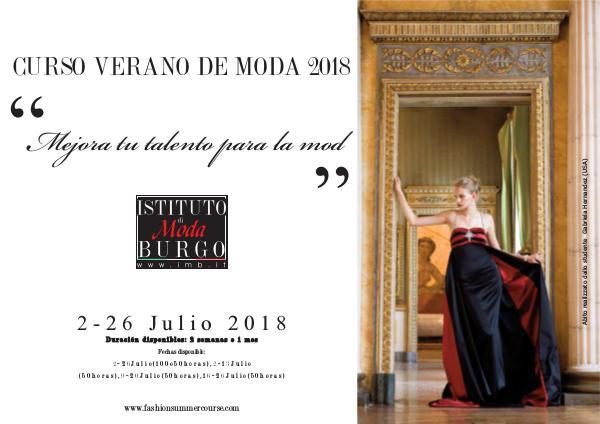 Istituto di Moda Burgo - Summer Courses curso-verano-moda