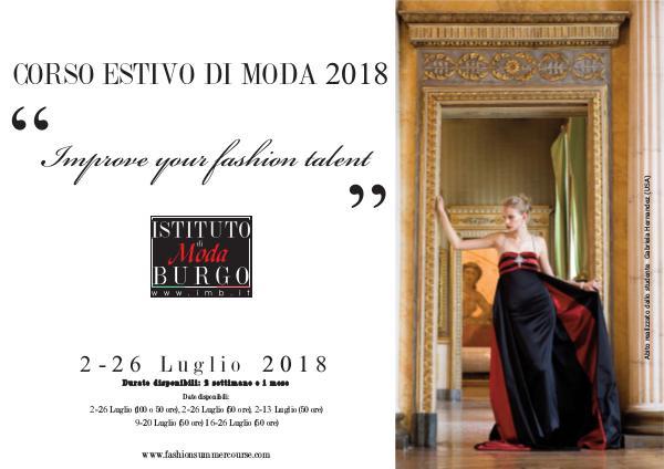 Istituto di Moda Burgo - Summer Courses corso-estivo-moda